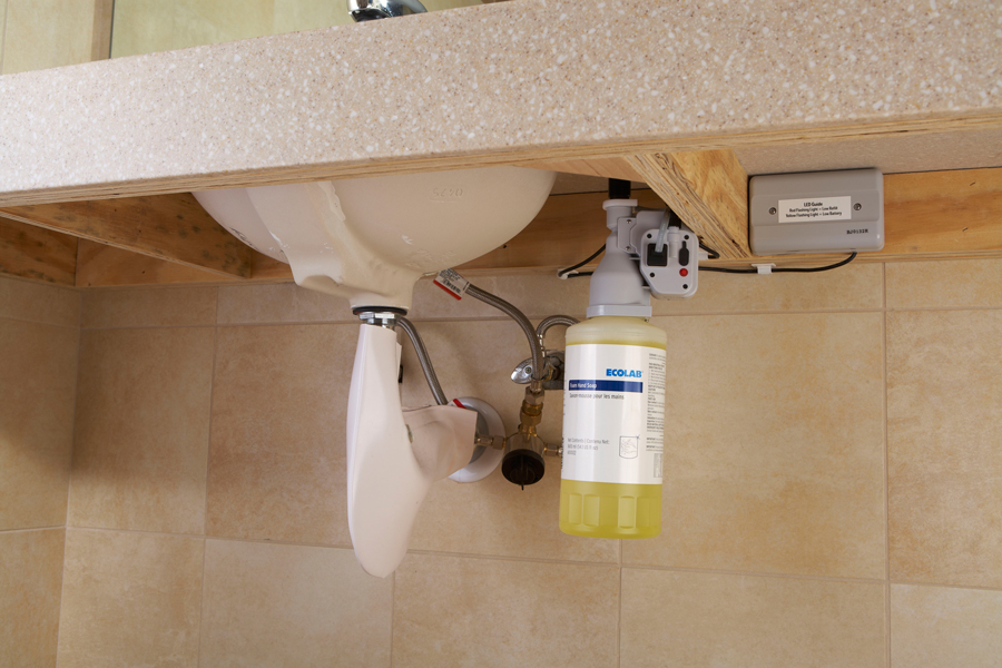 FACILIPRO Foam Hand Soap Counter Mount